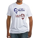 Barack and the Island Fitted T-Shirt