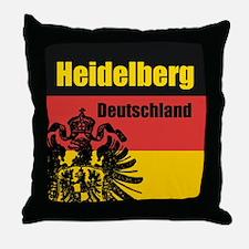 Heidelberg Deutschland Throw Pillow