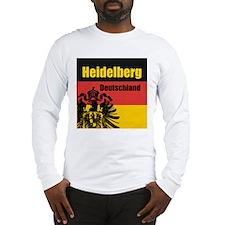Heidelberg Deutschland Long Sleeve T-Shirt