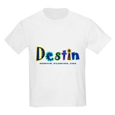 Destin Tropical Type -  T-Shirt
