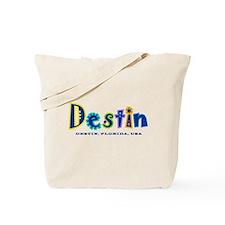 Destin Tropical Type - Tote Bag