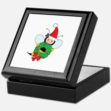 Bee Christmas Keepsake Box