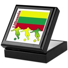 Lithuania Soccer Keepsake Box