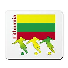 Lithuania Soccer Mousepad