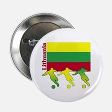 "Lithuania Soccer 2.25"" Button (10 pack)"
