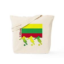 Lithuania Soccer Tote Bag