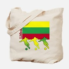 Lithuania Soccer Tote Bag