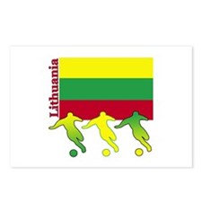 Lithuania Soccer Postcards (Package of 8)