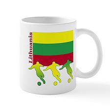 Lithuania Soccer Mug