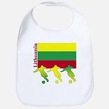 Lithuania Soccer Bib