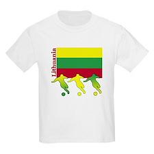 Lithuania Soccer T-Shirt