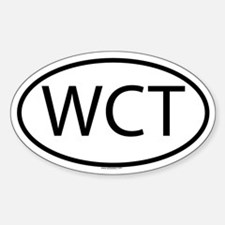 WCT Oval Decal