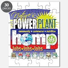 Hemp Power Plant Puzzle