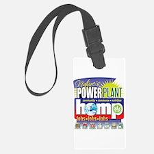 Hemp Power Plant Luggage Tag