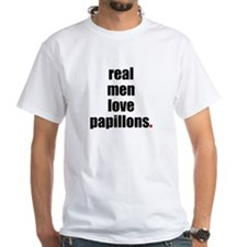 Real Men - Papillons Shirt