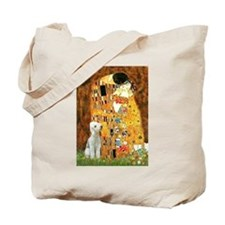Kiss / Bedlington T Tote Bag
