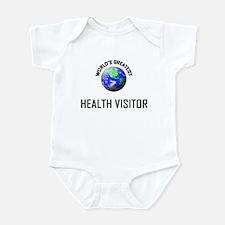World's Greatest HEALTH VISITOR Infant Bodysuit