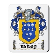 Bailey Coat of Arms Mousepad