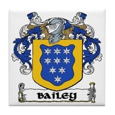 Bailey Coat of Arms Ceramic Tile