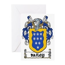 Bailey Coat of Arms Note Cards (Pk of 10)