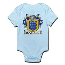 Bailey Coat of Arms Infant Creeper