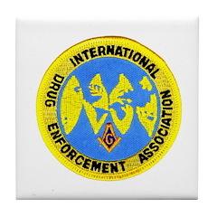 Masonic DEA Tile Coaster