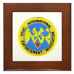 Masonic DEA Framed Tile