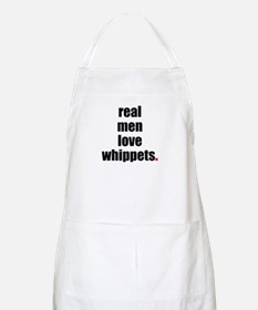 Real Men - Whippets BBQ Apron