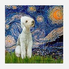 Starry / Bedlington Tile Coaster
