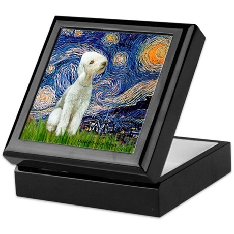 Starry / Bedlington Keepsake Box