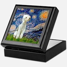 Starry / Bedlington Keepsake Box