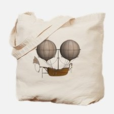 Cute Airship Tote Bag