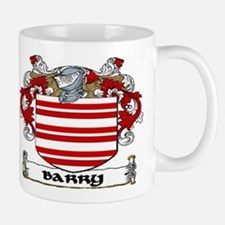 Barry Coat of Arms Mug