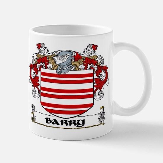 Barry Coat of Arms Mug