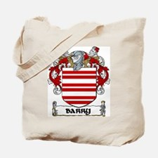 Barry Coat of Arms Tote Bag