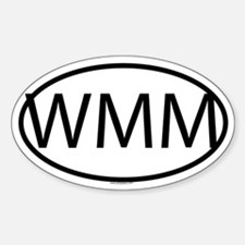 WMM Oval Decal