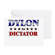 DYLON for dictator Greeting Card