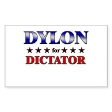 DYLON for dictator Rectangle Decal