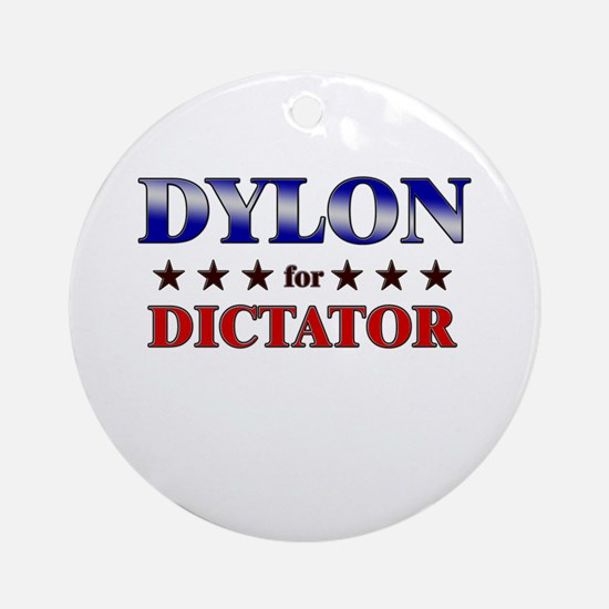DYLON for dictator Ornament (Round)