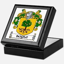 Boyle Coat of Arms Keepsake Box