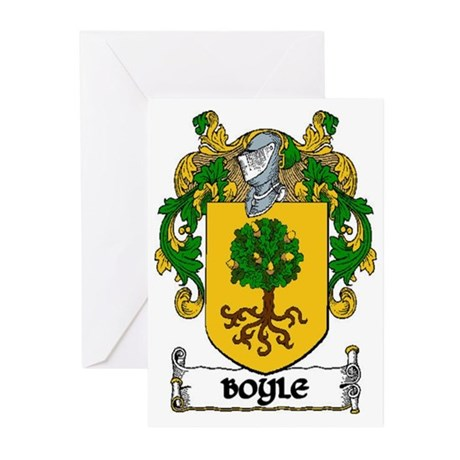 Boyle Coat of Arms Greeting Cards (Pk of 10)