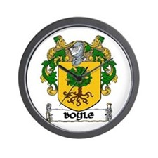 Boyle Coat of Arms Wall Clock