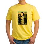 Mona / Bedlington(T) Yellow T-Shirt
