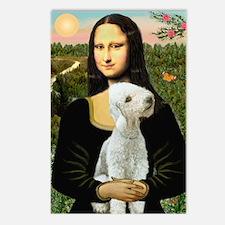 Mona / Bedlington(T) Postcards (Package of 8)