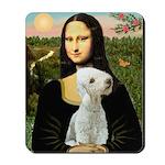 Mona / Bedlington(T) Mousepad