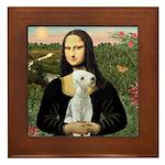 Mona / Bedlington(T) Framed Tile