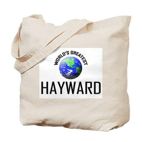 World's Greatest HAYWARD Tote Bag