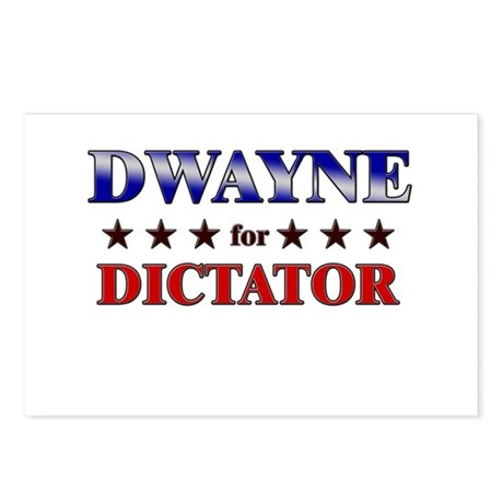 DWAYNE for dictator Postcards (Package of 8)