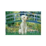Bridge / Bedlington T Rectangle Magnet