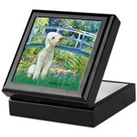 Bridge / Bedlington T Keepsake Box